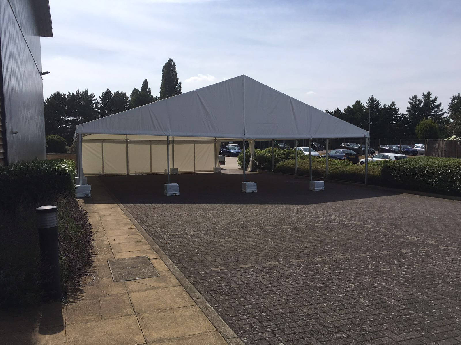 12m Canopy with weights